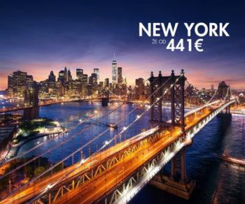 povratna letalska karta v new york
