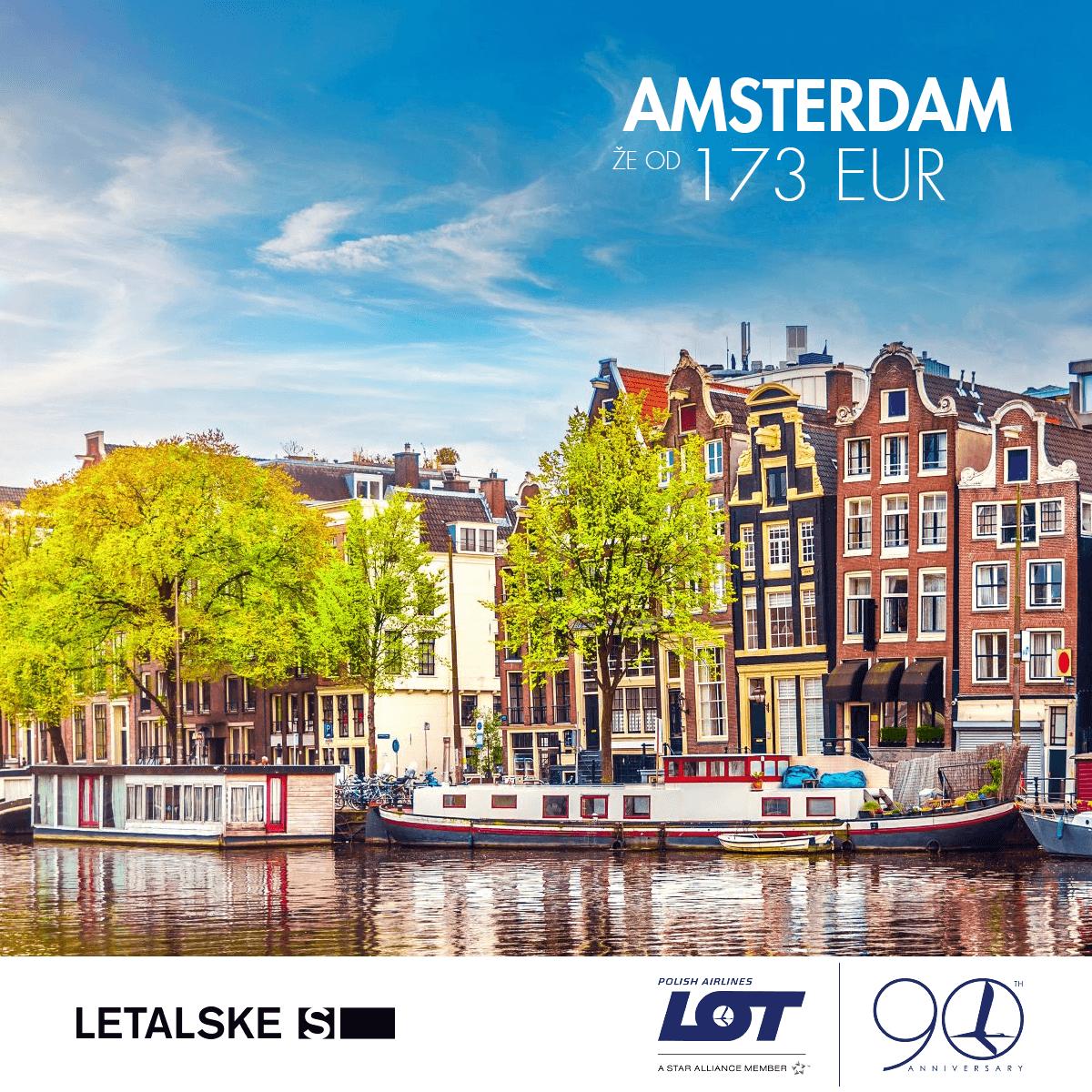 Amsterdam vizual, Amsterdam već od 1500 kuna, Amsterdam jeftine avio karte, putovanje za Amsterdam