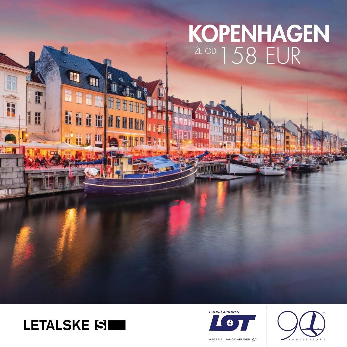 Kopenhagen vizual, Kopenhagen već od 1400 kuna, Kopenhagen jeftine avio karte, putovanje za Kopenhagen