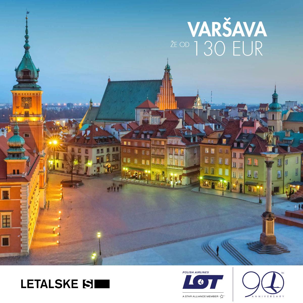 Varsava vizual, Varsava već od 1400 kuna, Varsava jeftine avio karte, putovanje za Varsava
