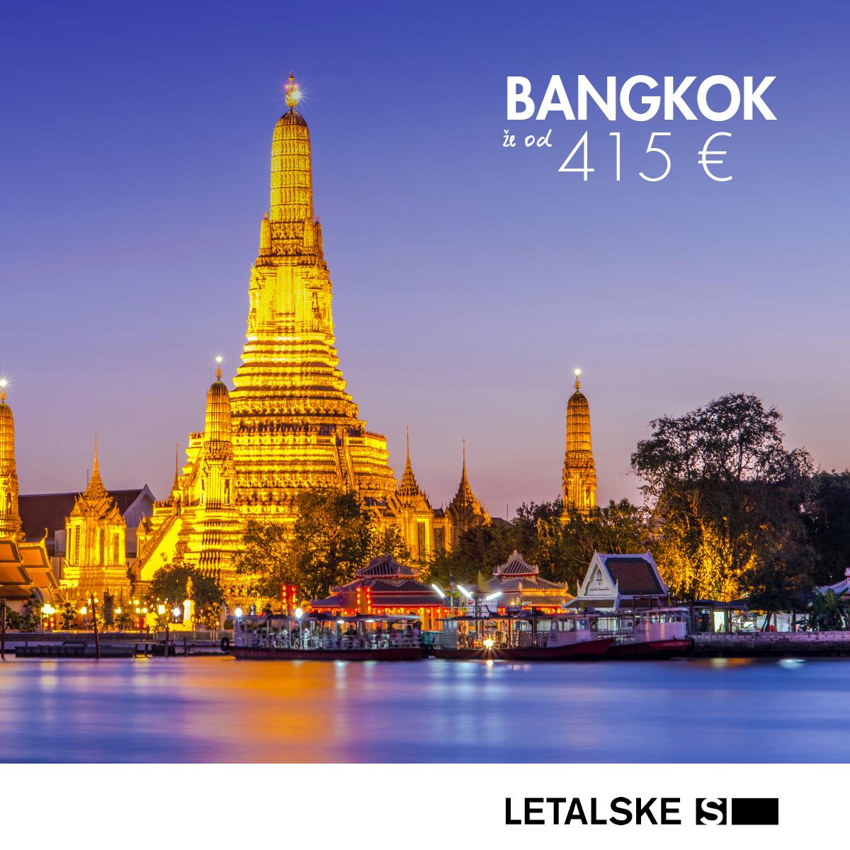 Bangkok vizual, Bangkok već od 3190 kuna, Bangkok jeftine avio karte, putovanje za Bangkok