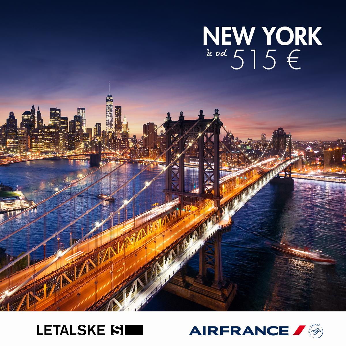 New York vizual, New York već od 1400 kuna, New York jeftine avio karte, putovanje za New York