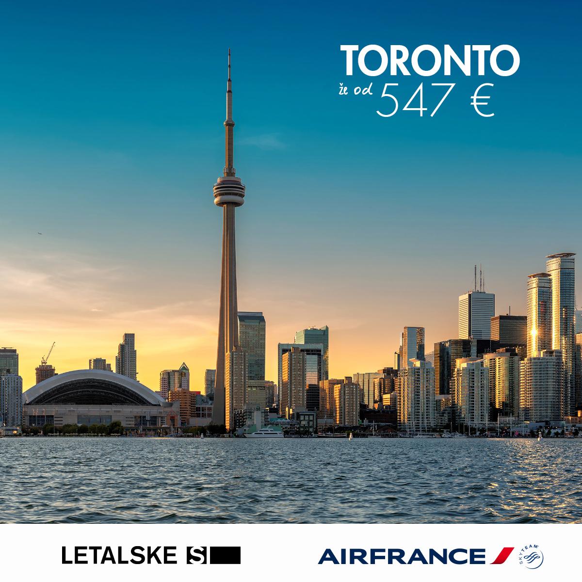 Toronto vizual, Toronto već od 1400 kuna, Toronto jeftine avio karte, putovanje za Toronto