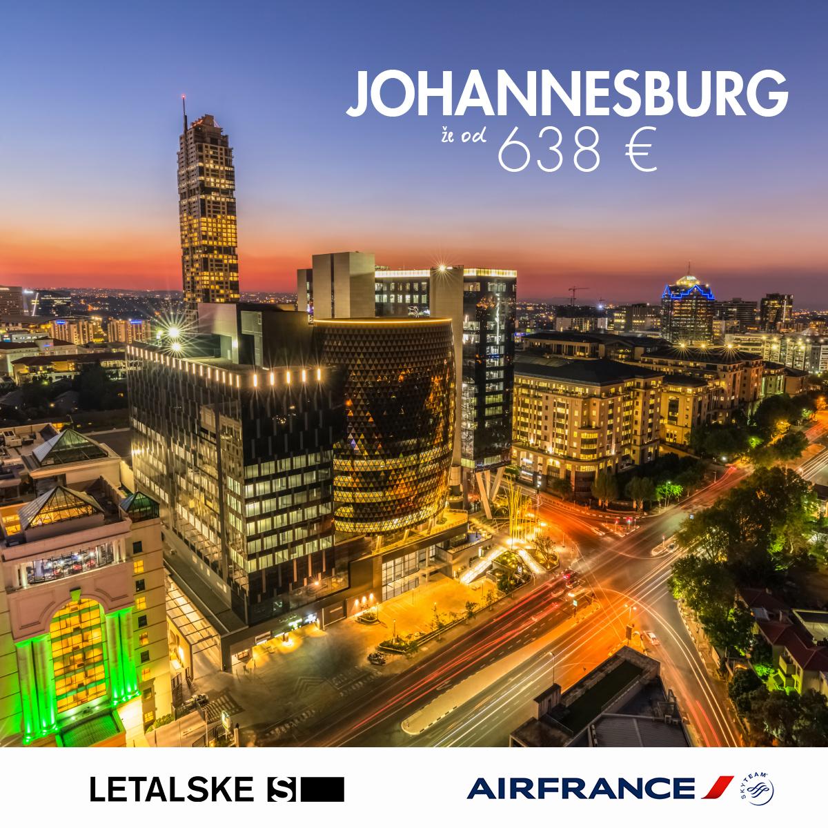 Johannesburg vizual, Johannesburg već od  kuna, Johannesburg  jeftine avio karte, putovanje za Johannesburg
